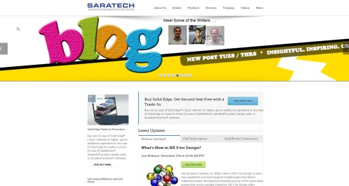 Saratech blog like you mean it