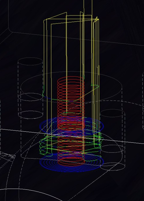 tool path .055 stepup